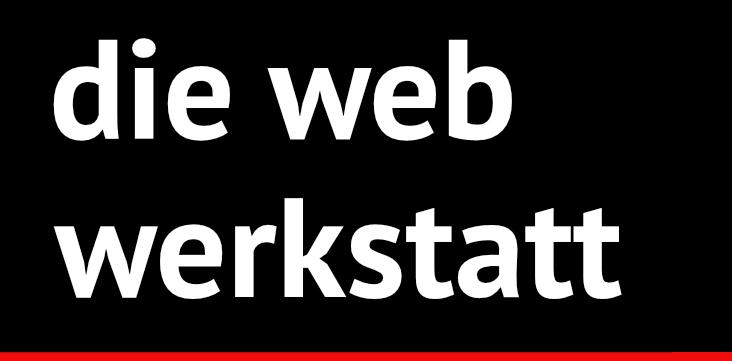 Die Webwerkstatt